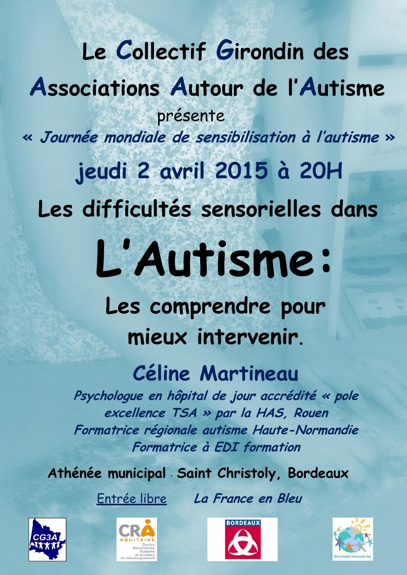 2 avril 2015 AUTISME Bordeaux