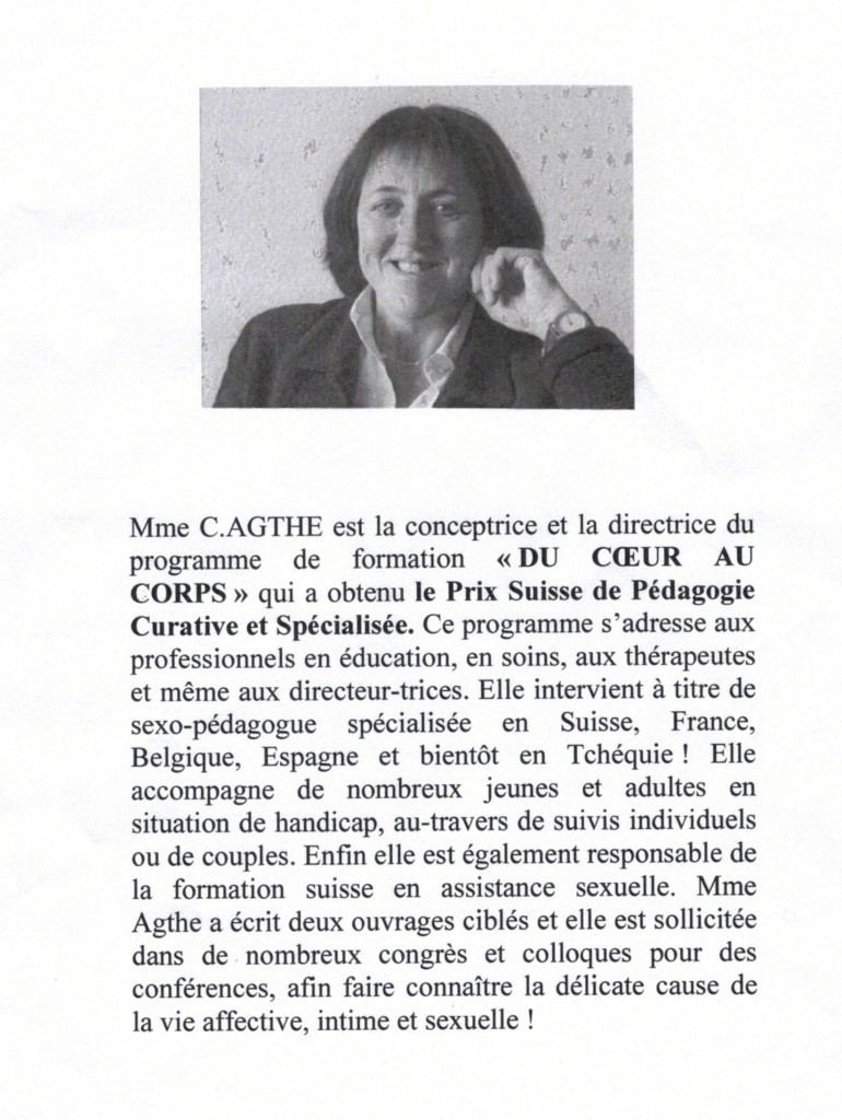 Catherine AGTHE DISERENS